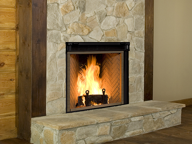 Rumford Comox Fireplace Patio